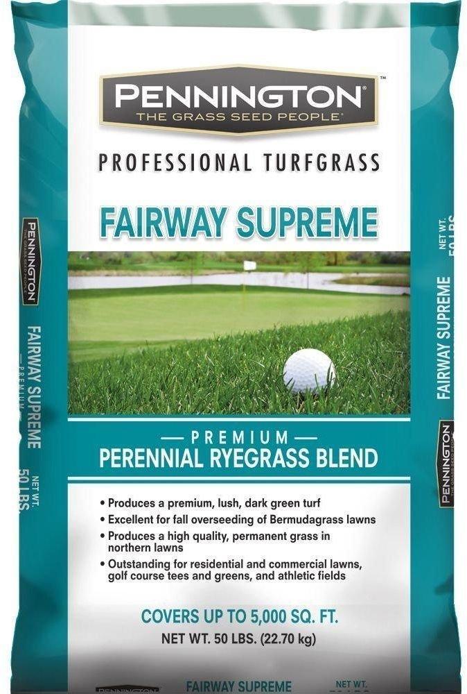 Pennington 50-Lb Fairway Supreme Perennial Ryegrass Blend Lawn Garden Grass Seed