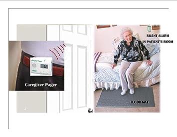Floor Mat & Wireless Pager. No Alarm Noise in Patients Room!