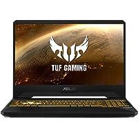 "ASUS TUF Gaming FX505DT-BQ600 - Ordenador portátil de 15.6"" FullHD (AMD Ryzen 7 3750H, 16 GB RAM, 512 GB SSD, NVIDIA GeForce GTX 1650, sin sistema operativo) Negro Sigilo - Teclado QWERTY español"
