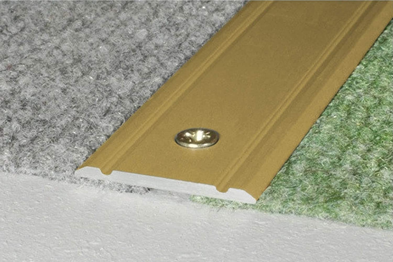 aluminium encadrement de sol aluminium profile /à vis 30x2mm,A02 Noir 1.80 m/ètres aluprofile