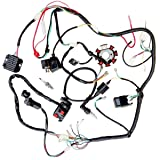 jikan annpee complete electrics wiring harness wire loom magneto stator gy6  4-stroke engine type