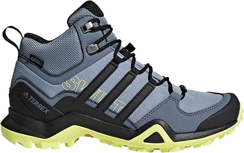 adidas Damen Terrex Swift R2 Mid GTX Trekking- & Wanderstiefel, schwarz