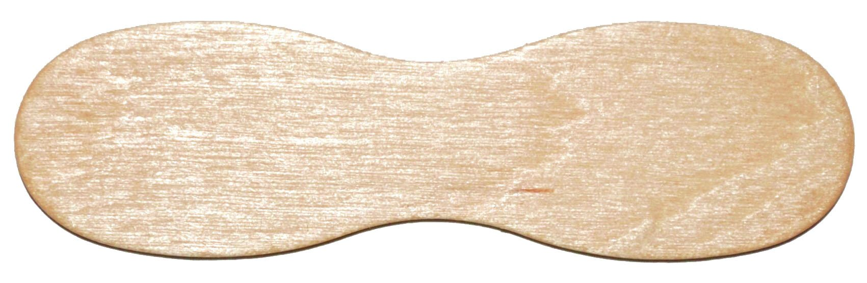 Perfect stix 60MM Plain Wooden Taster Spoons 2 3/8'' Length ( Box of 10,000)