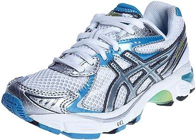 96a70412e4c ASICS Junior Gt-2160 Gs White/Titanium/Clear Blue Running Shoe C111N0197 12