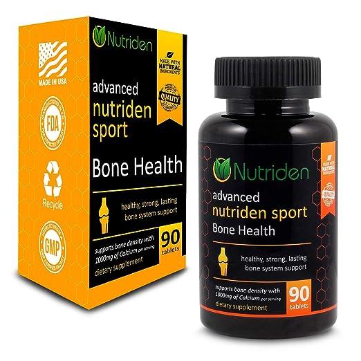 Amazon.com: nutriden la salud ósea Suplemento con calcio ...