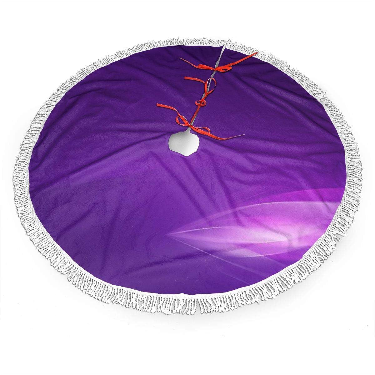 Pengyong Falda para árbol de Navidad, diseño de Hojas de Violeta ...