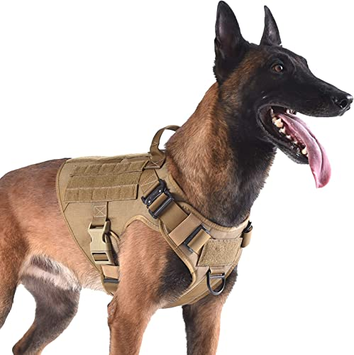 ICEFANG-Tactical-Dog-Harness-with-2X-Metal-Buckle