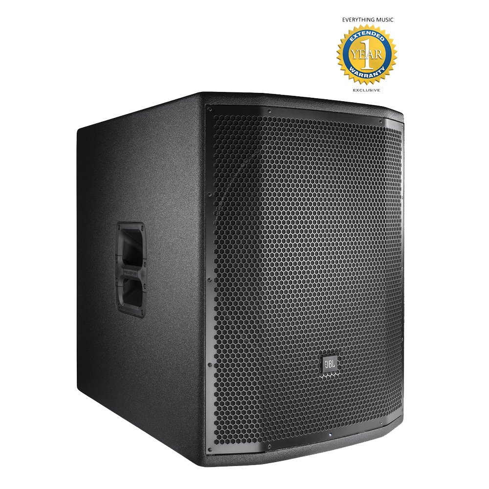 JBL PRX818XLFW 1500W, 18'' Active Subwoofer with 1 Year EverythingMusic Extended Warranty Free