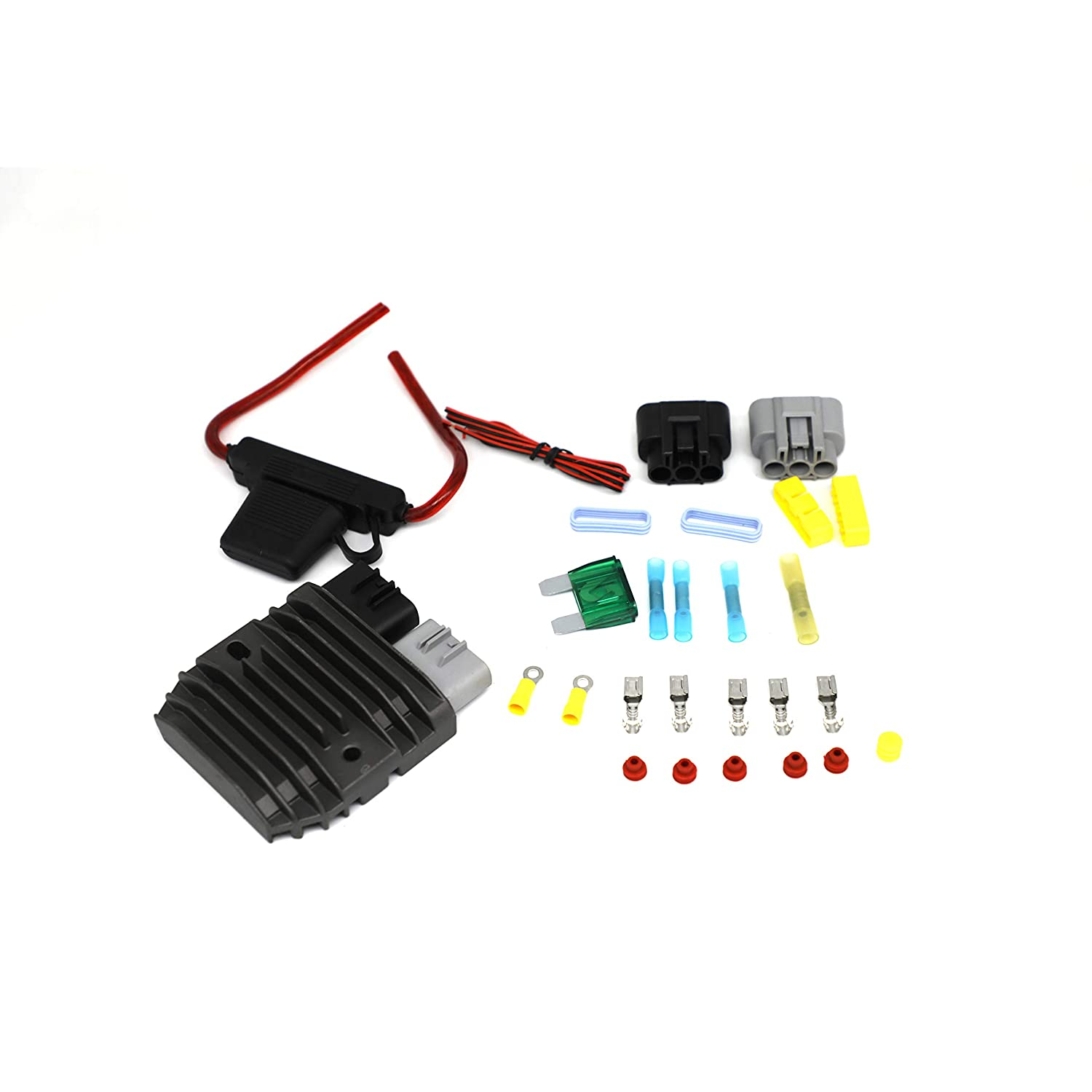 ACDelco 18K1033X Professional Front Disc Brake Caliper Hardware Kit with Clips and Pins