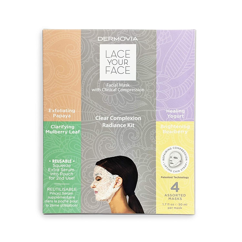 DERMOVIA Lace Your Face X Dr. Pimple Popper Clear Complexion Kit