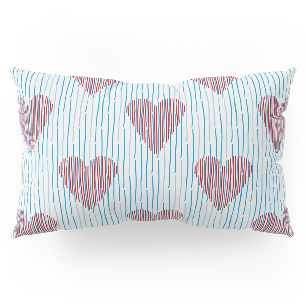 Society6 Its Raining Love Pillow Sham King (20'' x 36'') Set of 2
