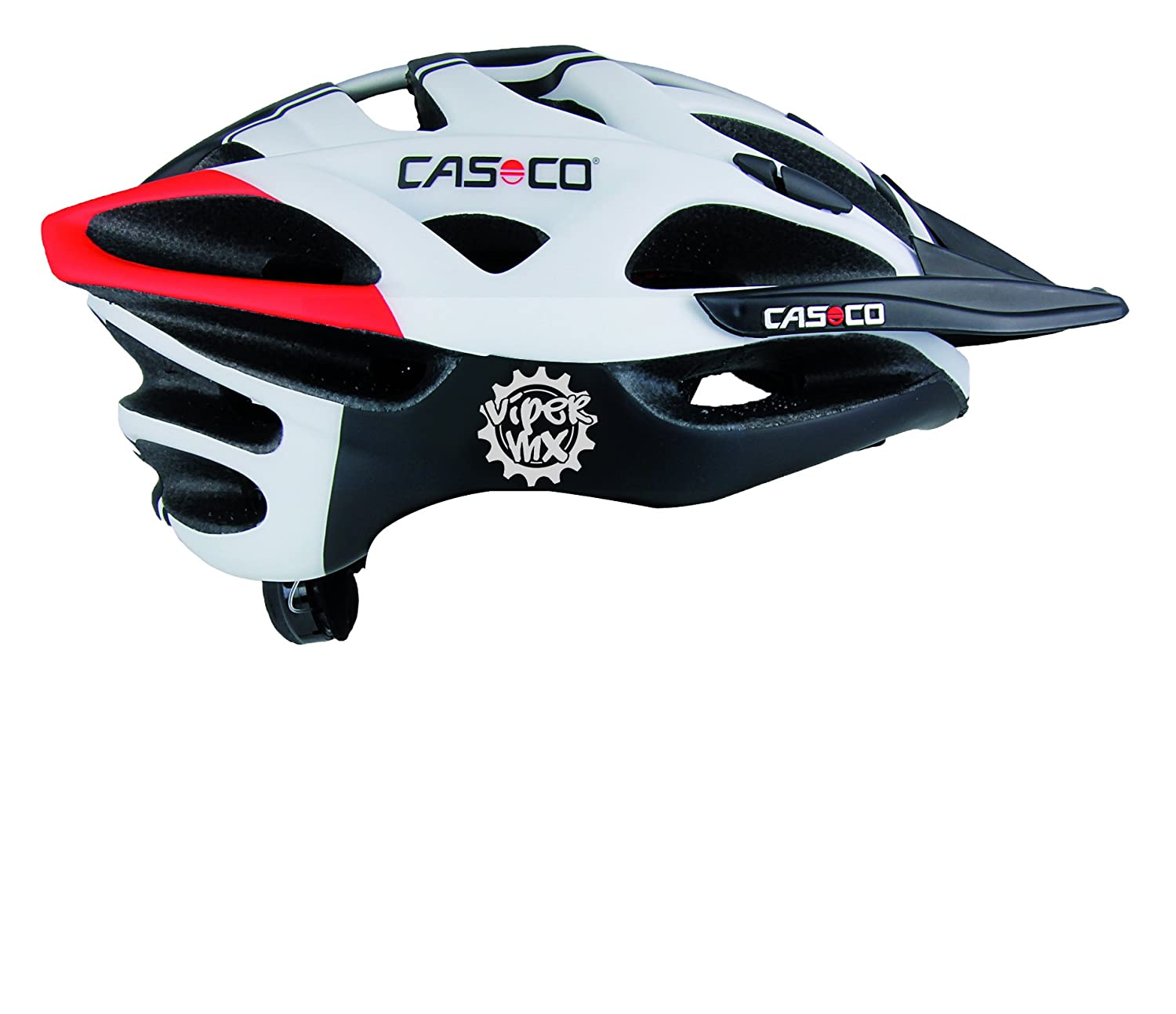 Bicicleta Casco Casco Viper MX Comp, todas las estaciones, color competition, tamaño M (52 bis 57cm): Amazon.es: Deportes y aire libre