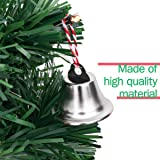 BESTOYARD Silver Bell Jingle Bells Christms Tree