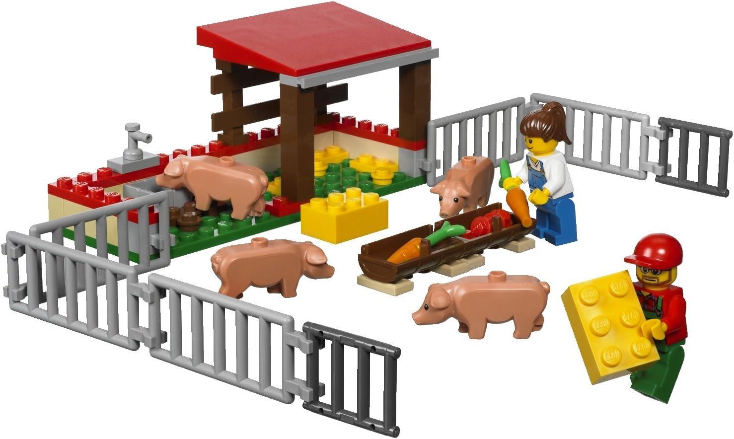 LEGO City 7684 - Granja de cerdos y tractor [versión en inglés ...