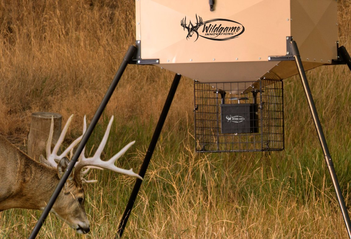 walmart deer ip hunter feeder american wildlife s com feeders pointe