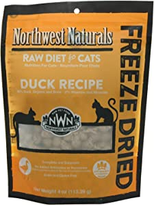 Northwest Naturals Freeze-Dried Cat Nibbles Duck Recipe 4 Ounces