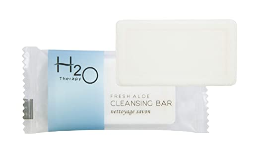H2O Therapy Bar Soap, Travel Size Hotel Amenities, 0.88 oz (Case of 250)