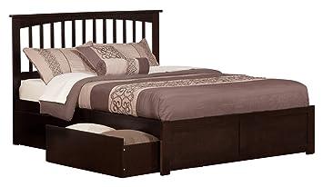 Amazon Atlantic Furniture AR8742111 Ar8742111 Mission Bed