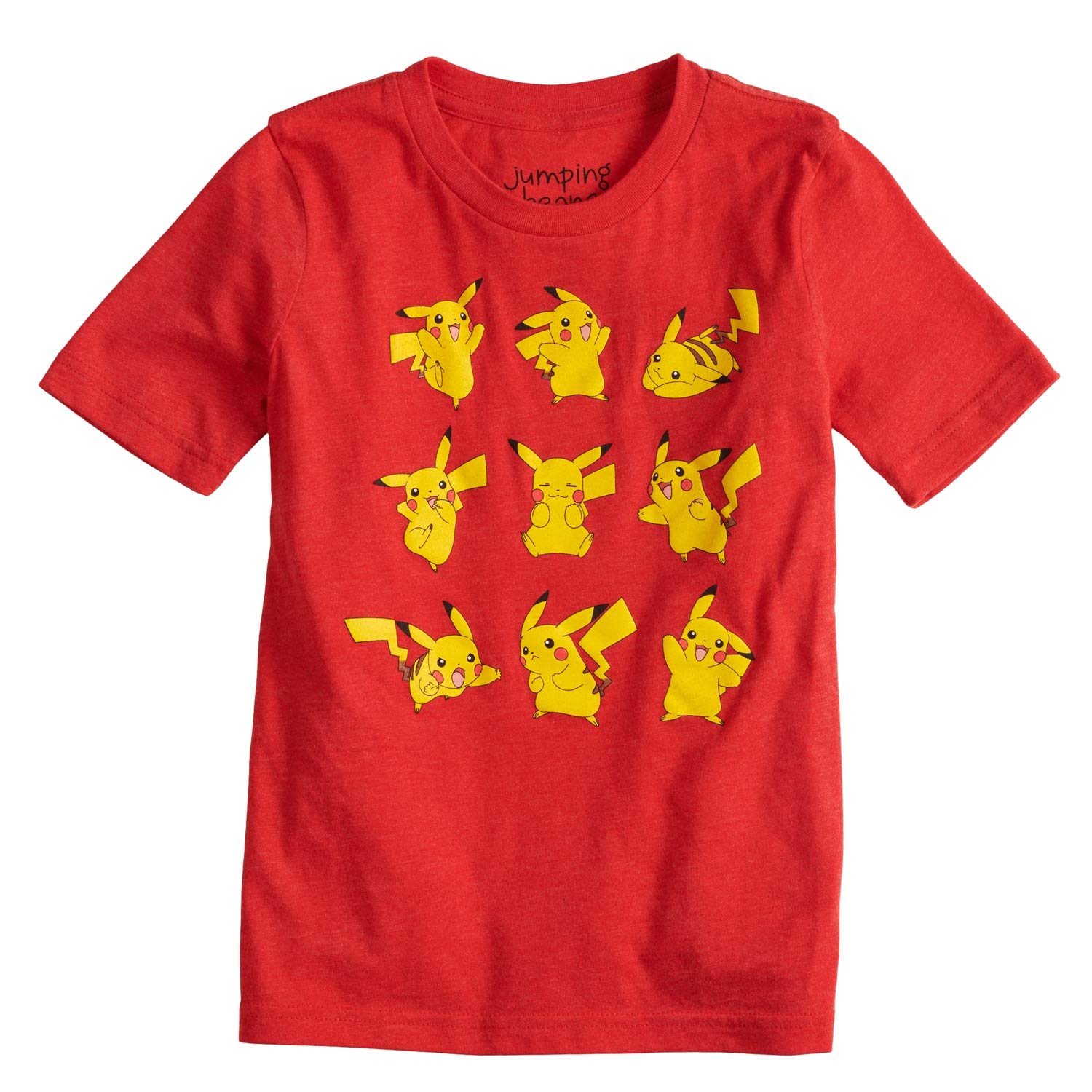 Jumping Beans Boys 4-10 Pokemon Pikachu Poses Graphic Tee