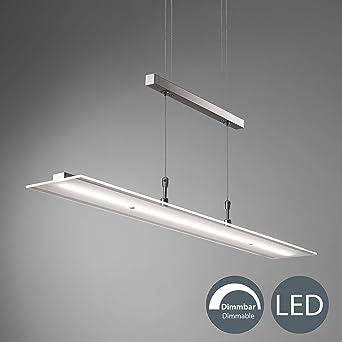 Pendelleuchte LED Metall Modern silber Warmweiß
