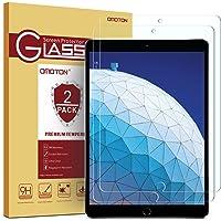 [2Pack] omoton iPad Pro 10,5Protector de visualización, protector de visualización de vidrio templado con [Dureza de 9H] [transparente] [anti-scratch] [instalación sin burbujas] para iPad Pro de 26.7cm