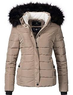 fee50afed9d0 Navahoo warme Damen Winter Jacke Parka Mantel Stepp Kurzjacke ...