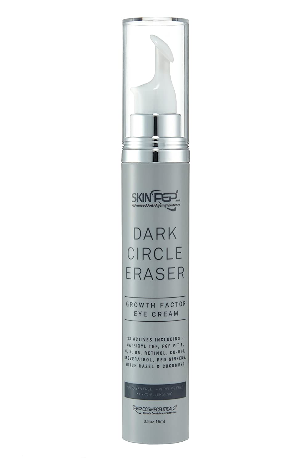 SkinPep ® Dark Circle Eraser - Growth Factor Eye Cream 15ml ...