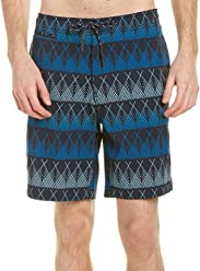7e0552659e Surfside Supply Mens Co. Linear Print Swim Trunk, S, Blue