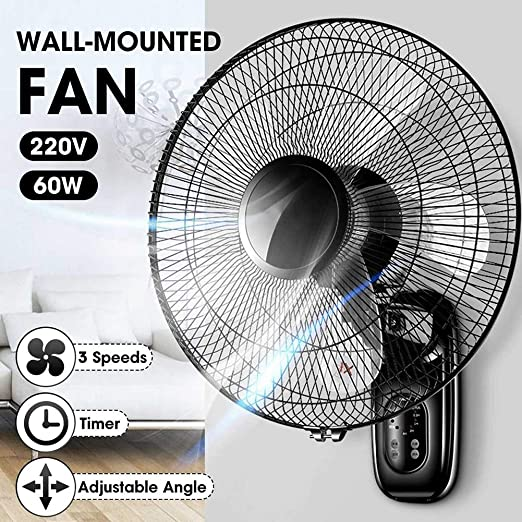 ZDYLM-Y Ventilador de Pared con Mando a Distancia, Digital ...