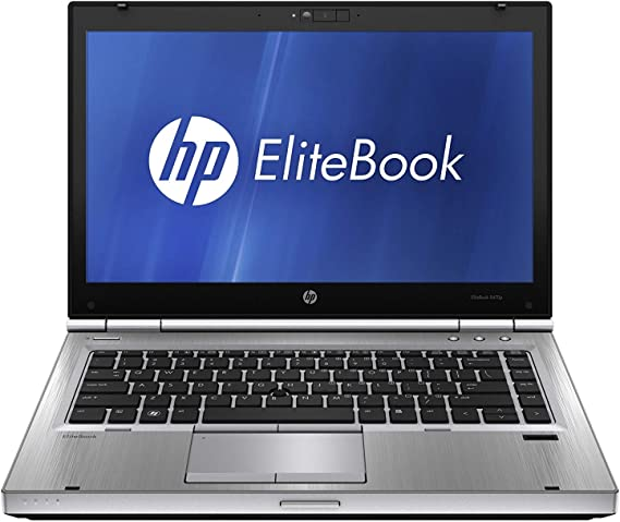 HP Elitebook 8470p Laptop webcam optional - Core i5 2.5ghz - 8GB DDR3 - 500GB HDD - DVD - Windows 10 home - (Renewed)