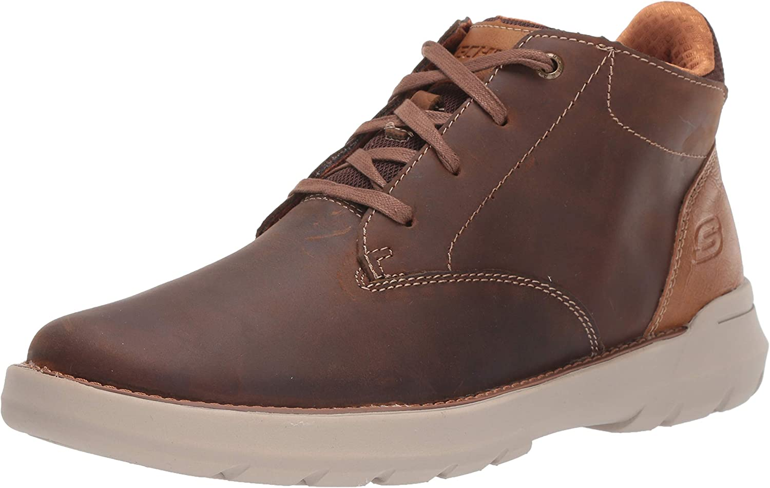 Skechers Men's DOVENO-MOLENS LACE UP Boot