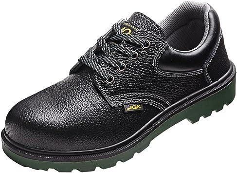 MagiDeal Zapatos de Seguridad para Hombre de Punta de Acero ...