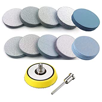 1 in Diameter Aluminum Oxide 42 Disk Buffing or Polishing Pad 20000 RPM
