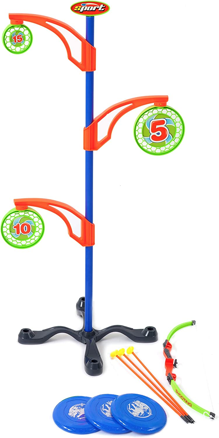 Target Bullseye PlayGround Learning School Supply Magnetic Shapes Letters #s