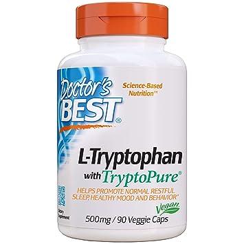 Doctors Best L-Triptófano Con Tryptopure, 500Mg - 90 Vcaps ...