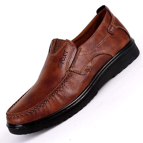 Zapatos cómodos Viejos del paño de Pekín para Hombre Mocasines Respirables de la Suela Blanda Ocasional: Amazon.es: Zapatos y complementos