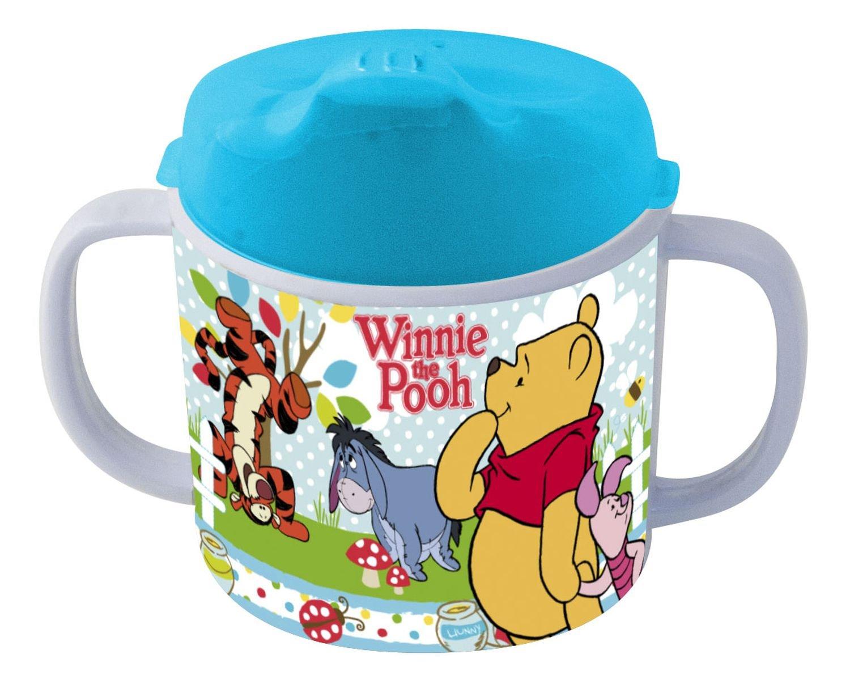 p:os 68939088 Disney Winnie the Pooh Trinklernbecher, Melamin/ABS, 200 ml