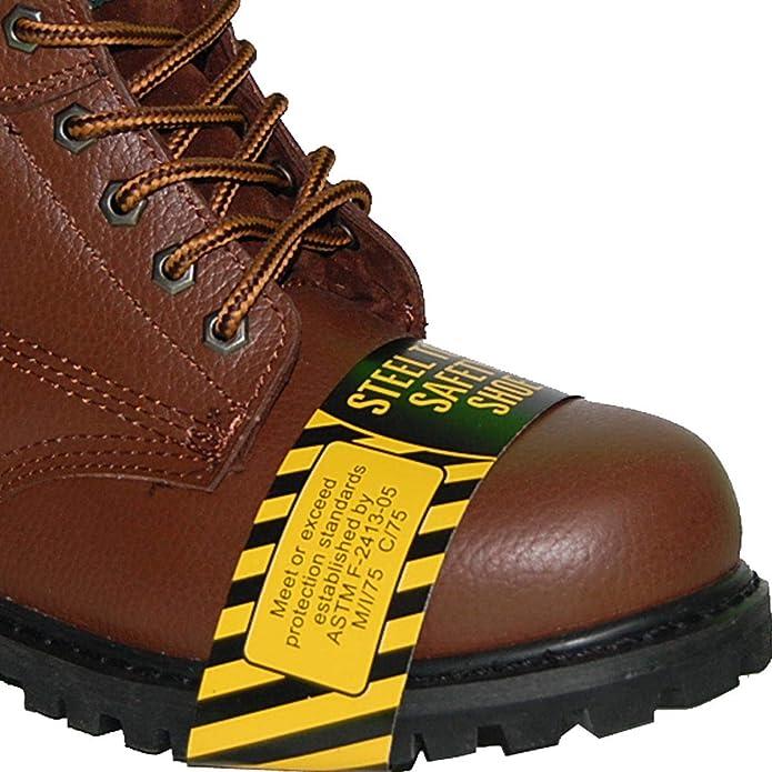 Amazon.com: Krazy American - Botas de acero para hombre, de ...
