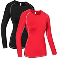 Women's Compression Dry Fit Running Athletic T-Shirt Workout Tops