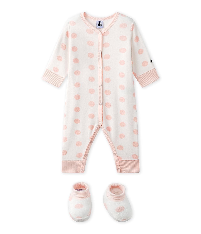 Petit Bateau Baby-Mädchen Schlafstrampler 27746