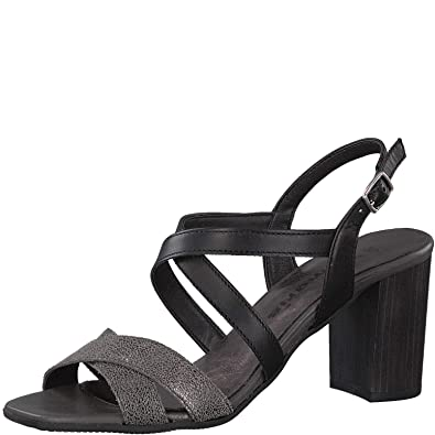 56f2eb2af2c5 Tamaris Schuhe 1-1-28011-38 Bequeme Damen Sandalette, Sandalen,  Sommerschuhe für modebewusste Frau,  Amazon.de  Schuhe   Handtaschen
