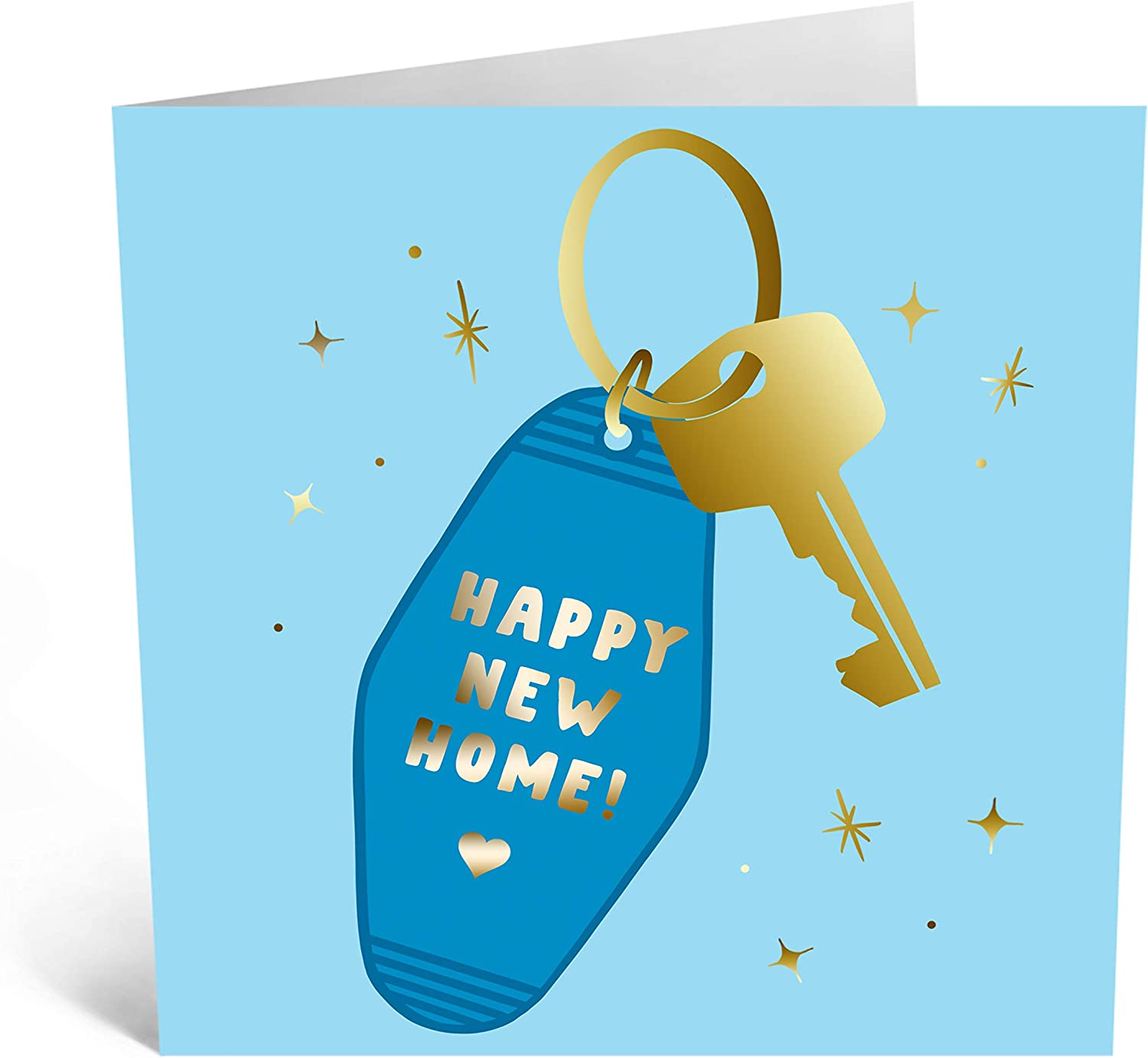 Central 23 - New Home Card - Congratulations On Your New Home - 'Happy New Home' - Welcome Card - Comes with Cute Stickers