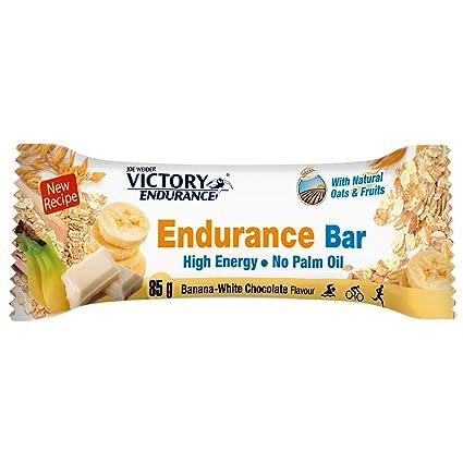 VICTORY ENDURANCE Endurance Bar Chocolate Blanco-Banana 85g