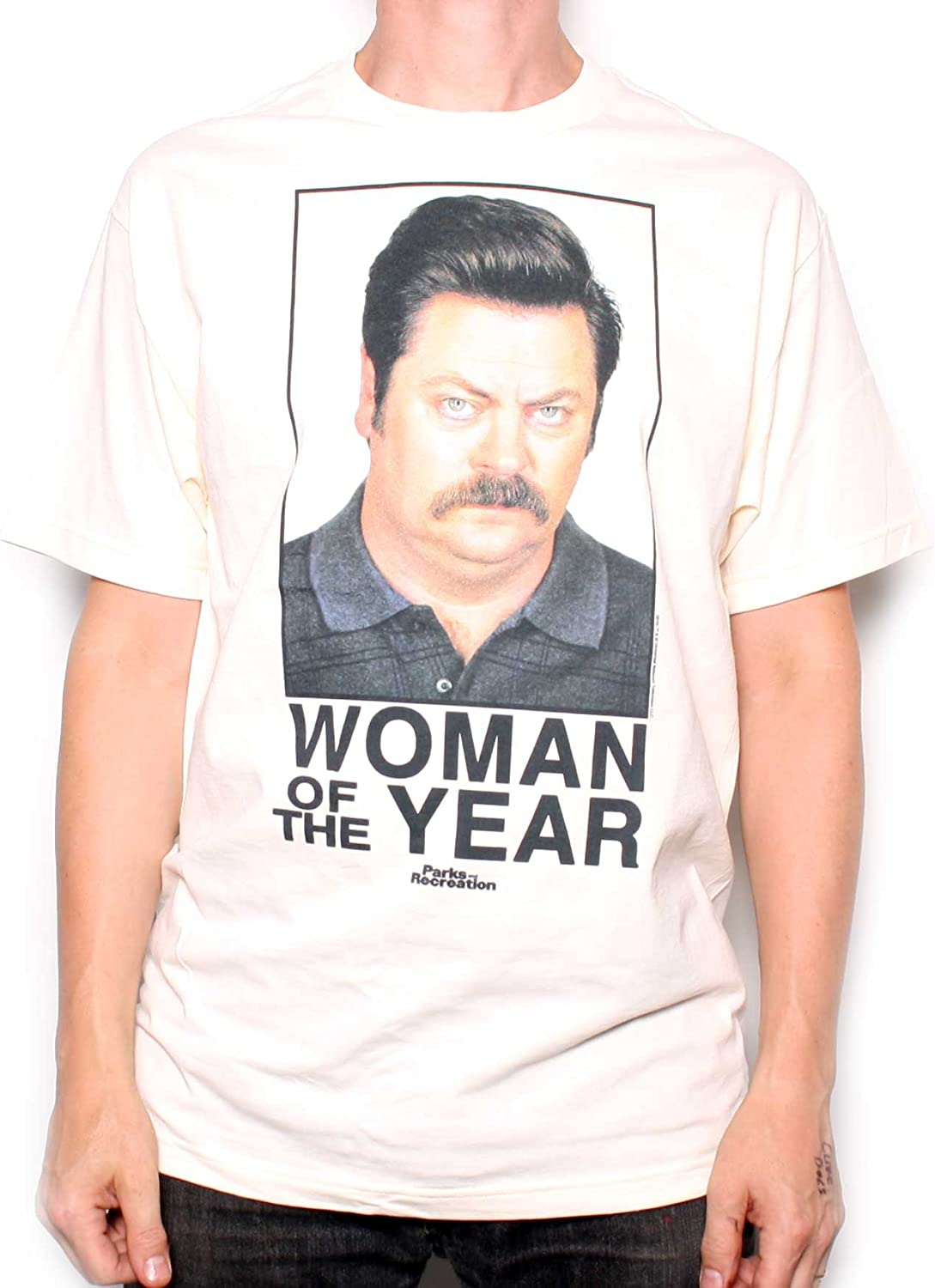 Parks & Recreation Camiseta – Ron Swanson Woman of the year ...