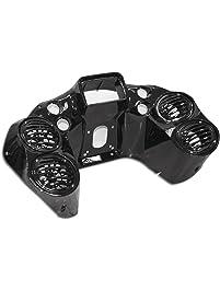 Bagger Brothers BB-HD1584-123 Vivid Black 4-Speaker Vivid Black Painted Inner Fairing
