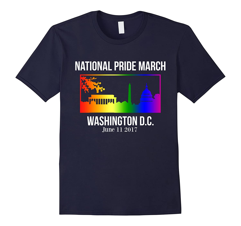 National Pride March Shirt Washington DC June 11 2017-Vaci