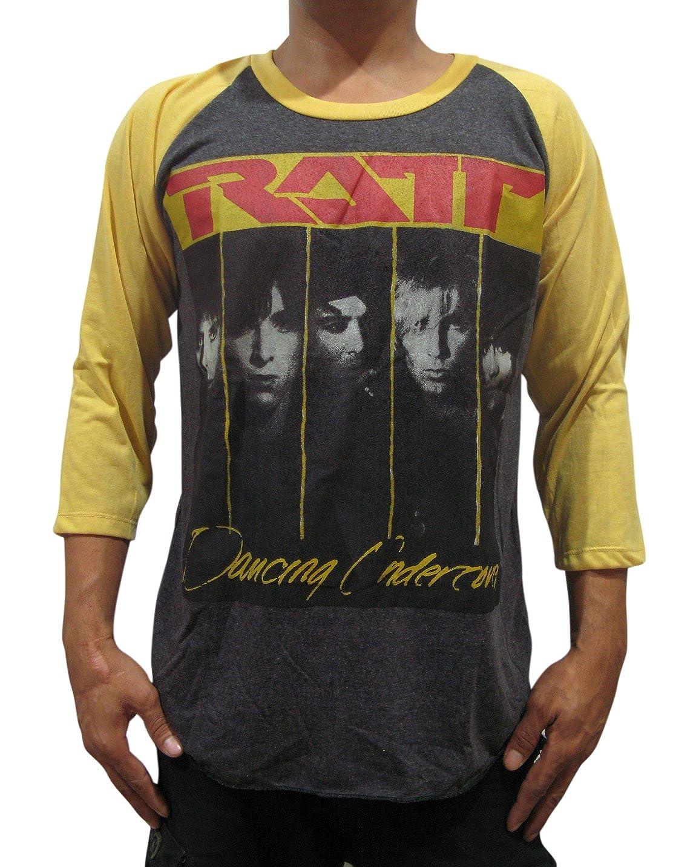 Amazon.com  Bunny Brand Men s Ratt Dancing Undercover Raglan T-Shirt  100%Cotton  Clothing 21aae4a31515