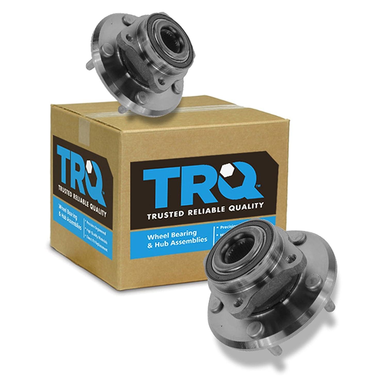 TRQ Wheel Bearing /& Hub Assembly Front LH RH Pair Set for 09-14 Dodge Journey
