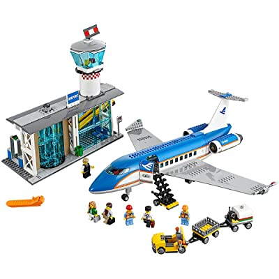 LEGO City Airport Passenger Terminal 60104 Creative Play Building Toy: Toys & Games