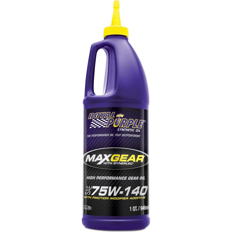 Royal Purple ROY01301 MAX GEAR 75W140, 1 quart by Royal Purple